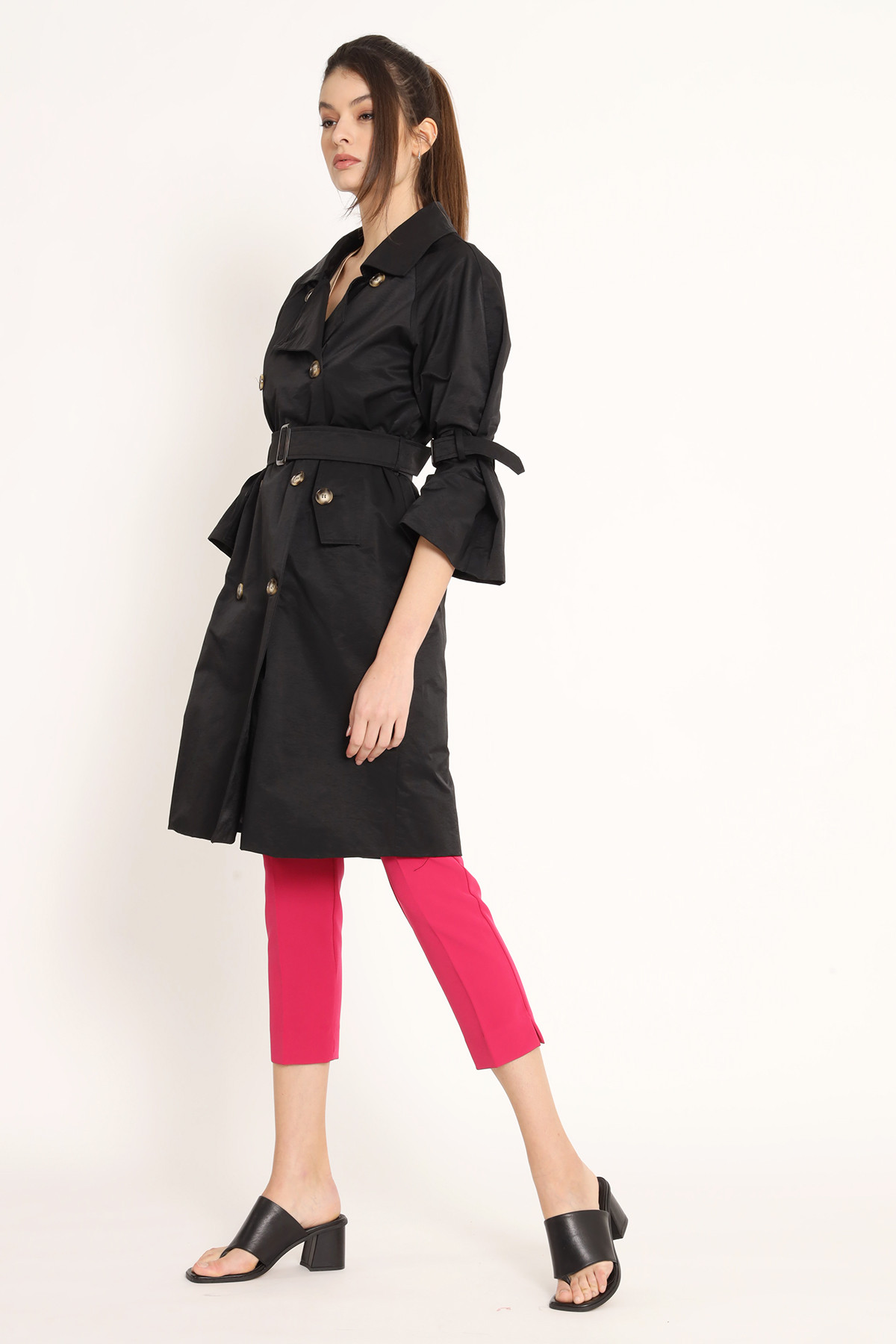 Double Breasted Waterproof Trench Coat