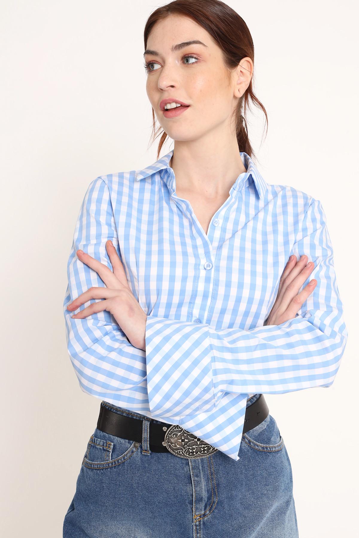 Pence Vichy Patterned Shirt