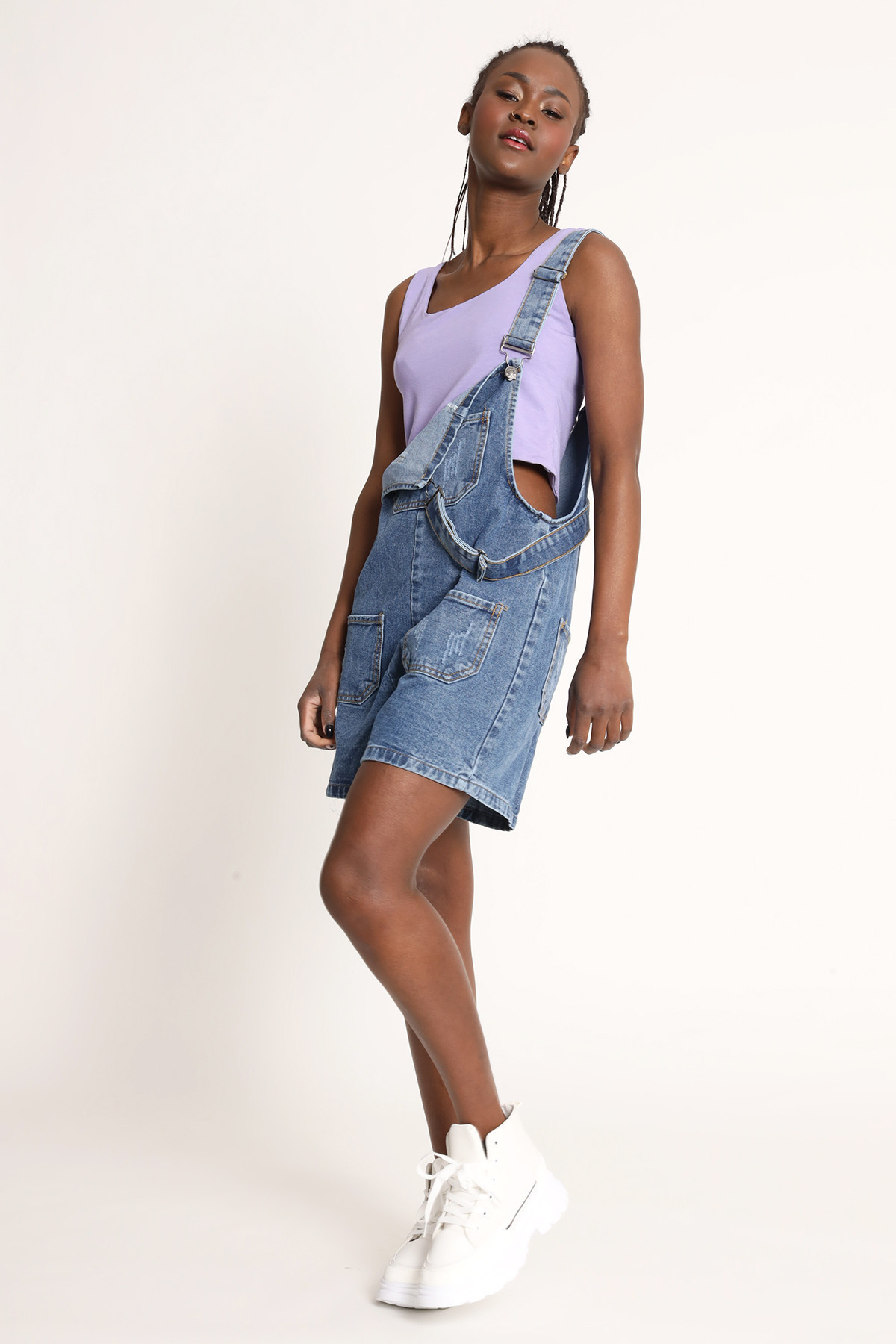 Dungarees With Shorts