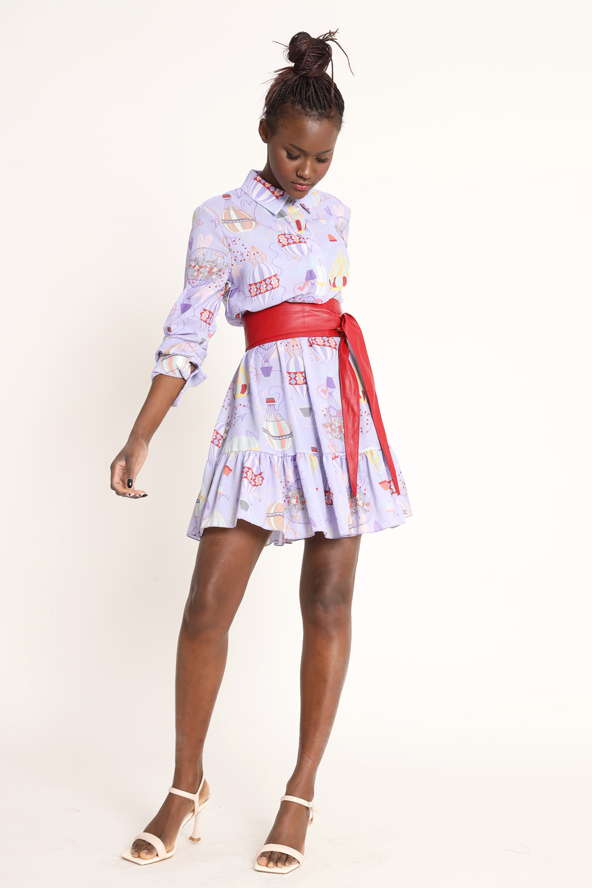Dress With Hot Air Balloons