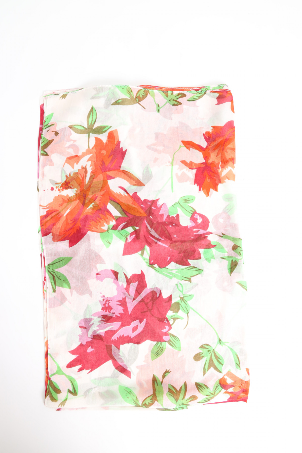 Foulard with Floral Print