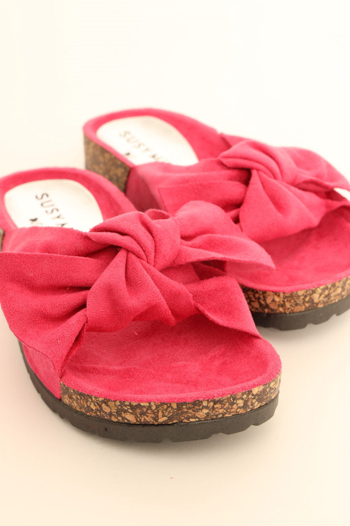 Bow slipper in Eco Leather