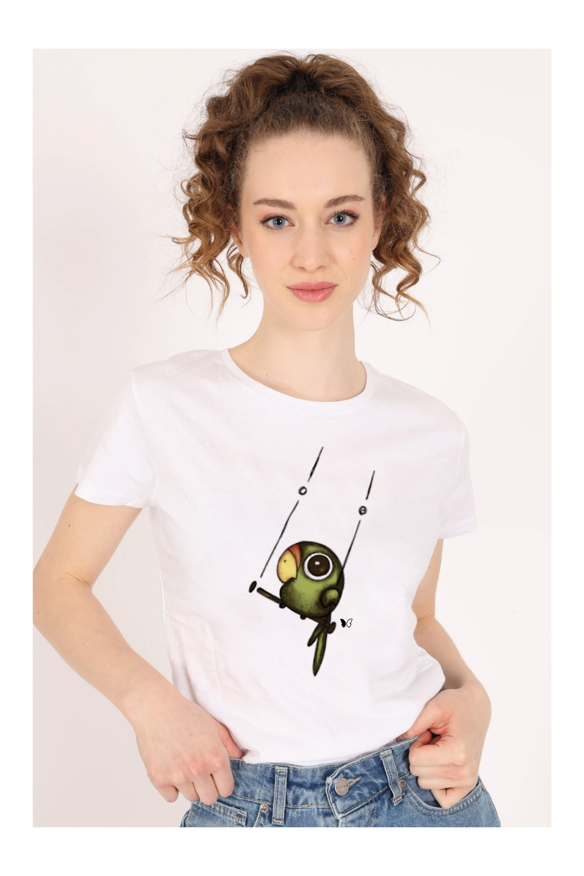 Parrot on the Perch T-Shirt