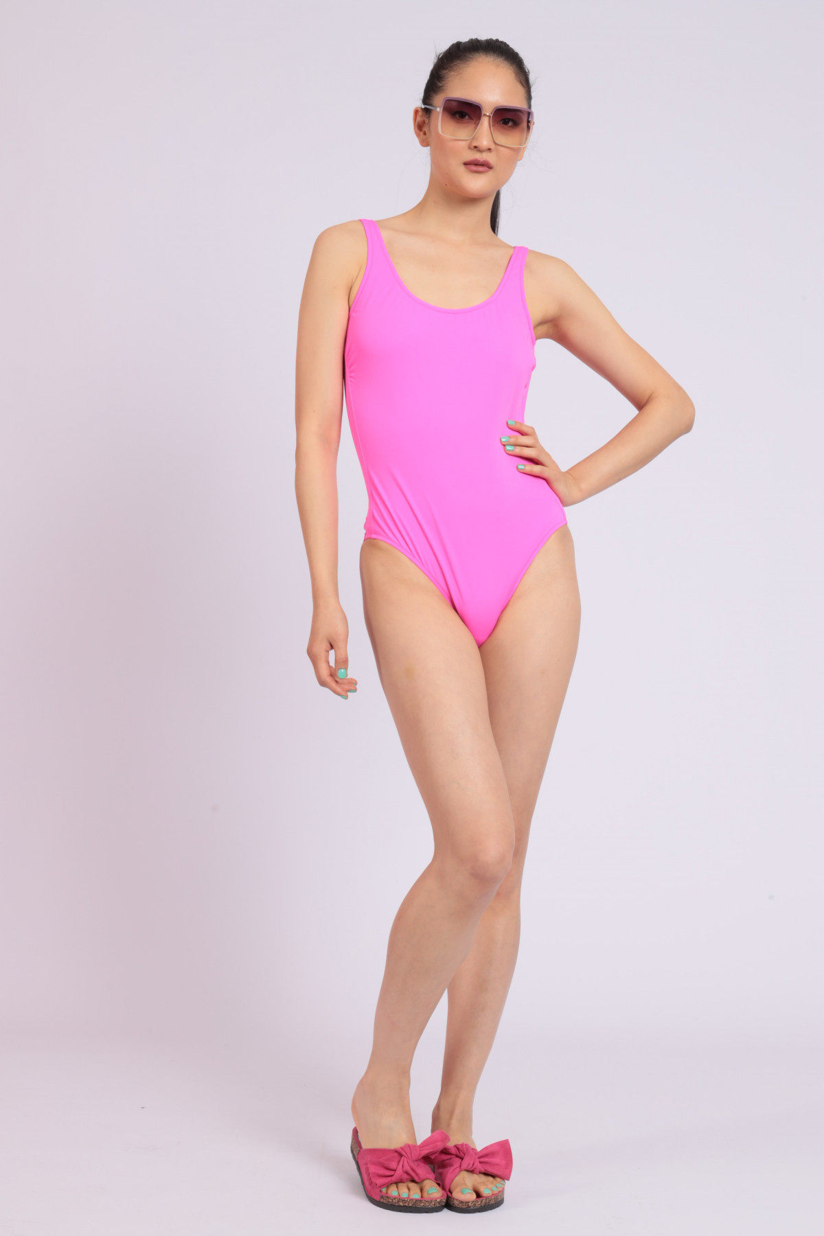 One-piece Fluo Swimsuit