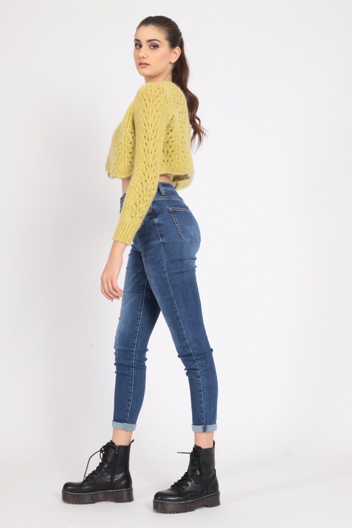 5 Skinny Pockets Stretch Jeans