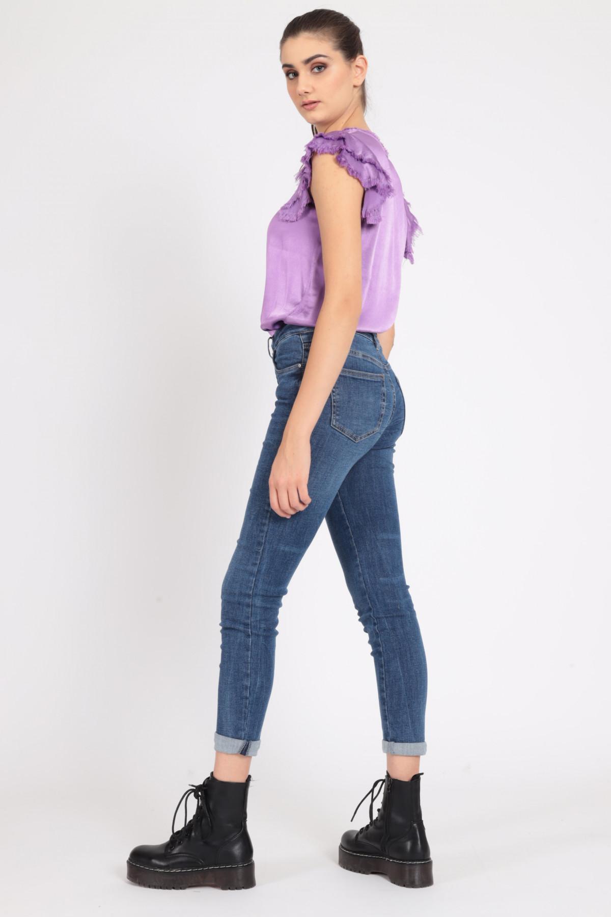 5 Skinny Pockets Jeans