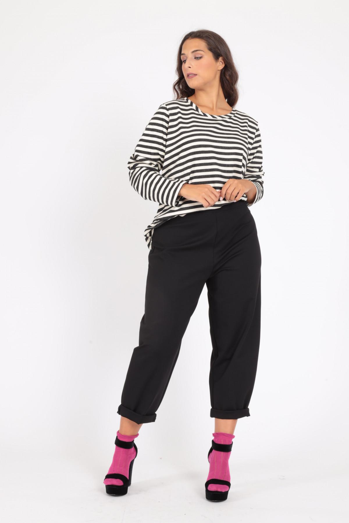 Pantaloni Mom Fit