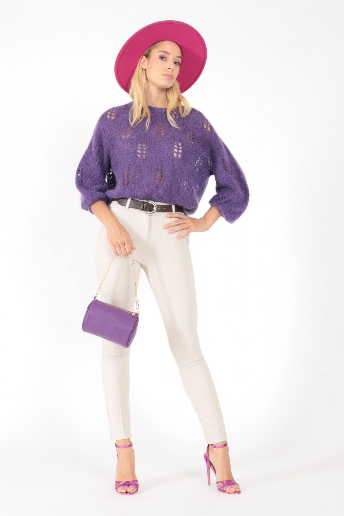Pantalone tasche 65%vi 30%ny 5%ea