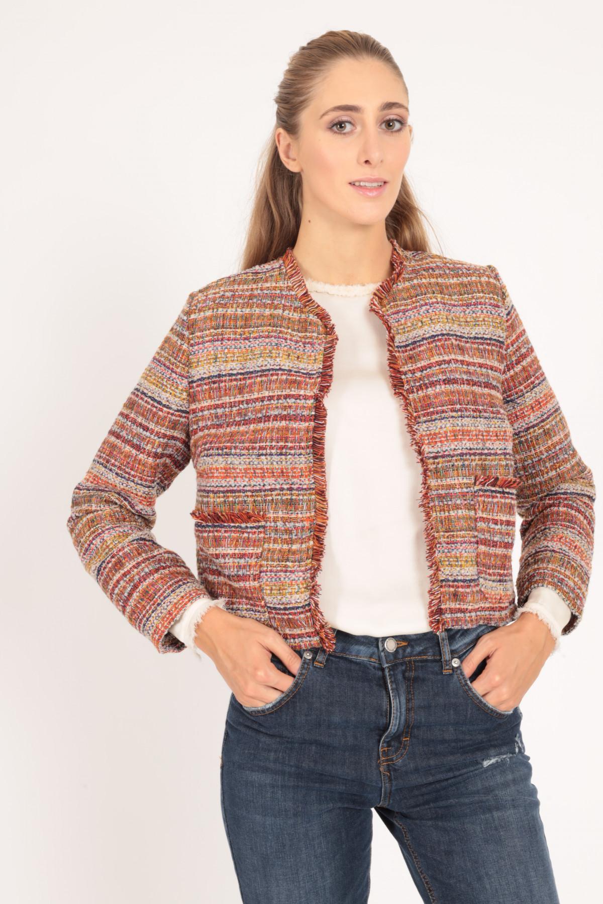 Chanel Collar Jacket in Tweed