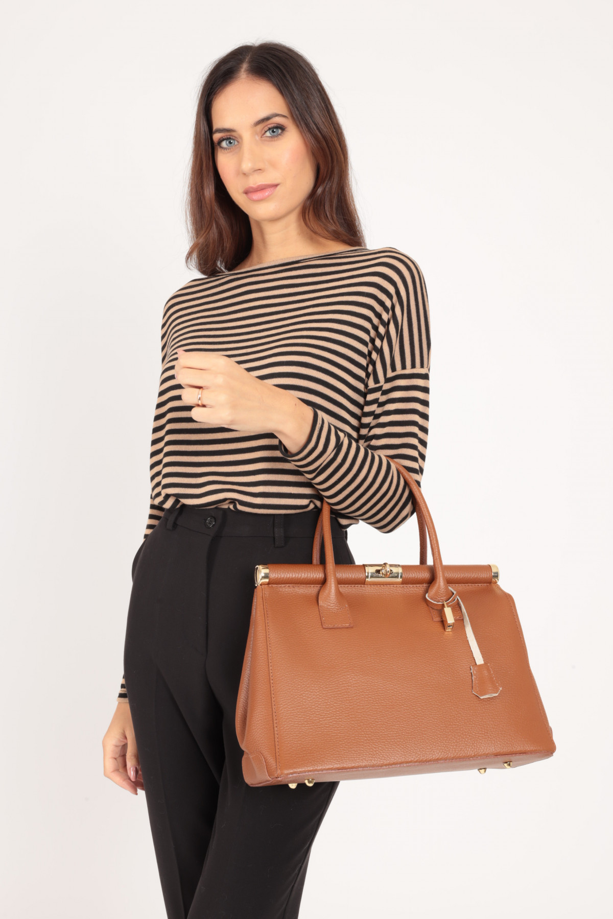 Medical Style Leather Bag