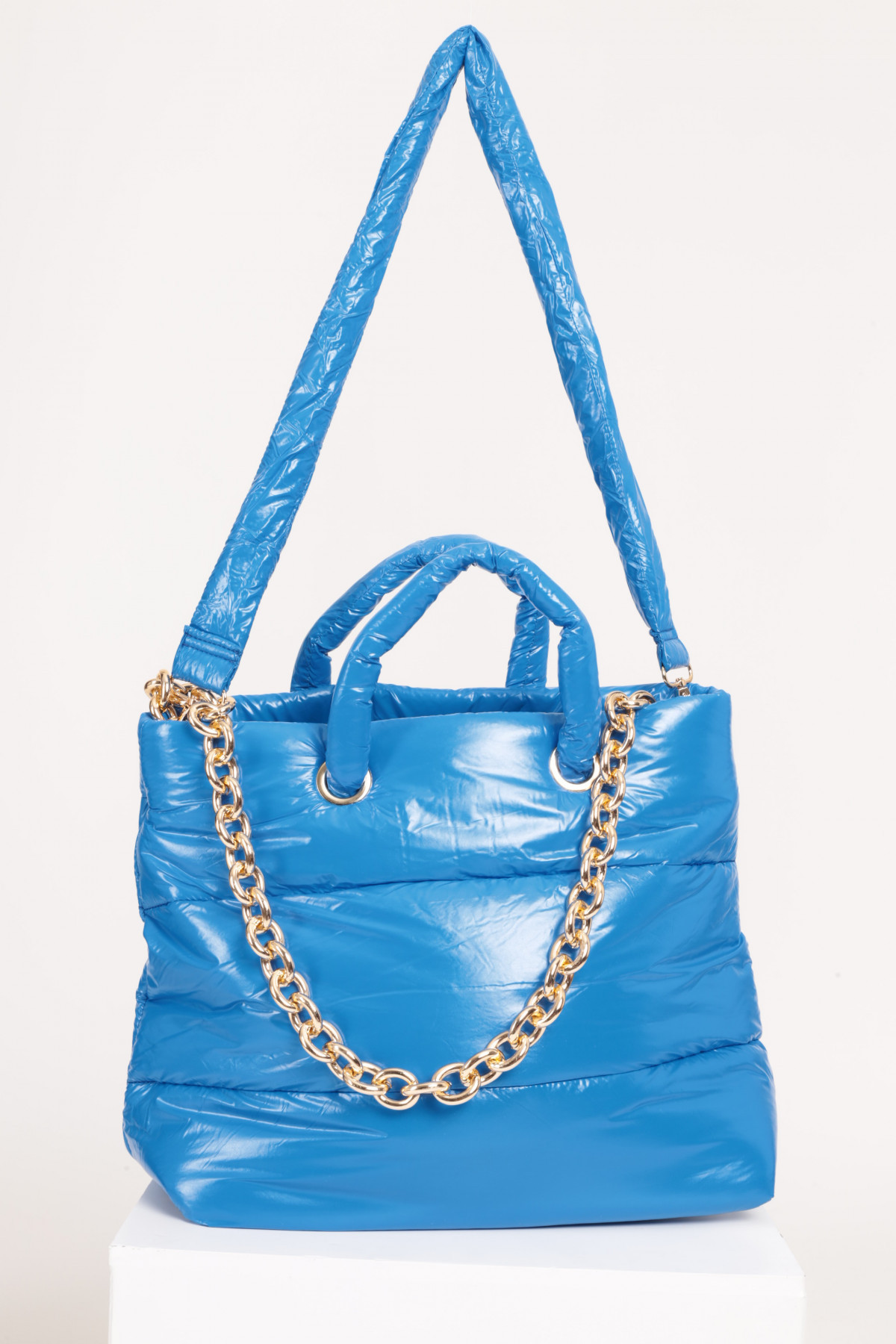 Duvet Bag with Shoulder Strap and Chain