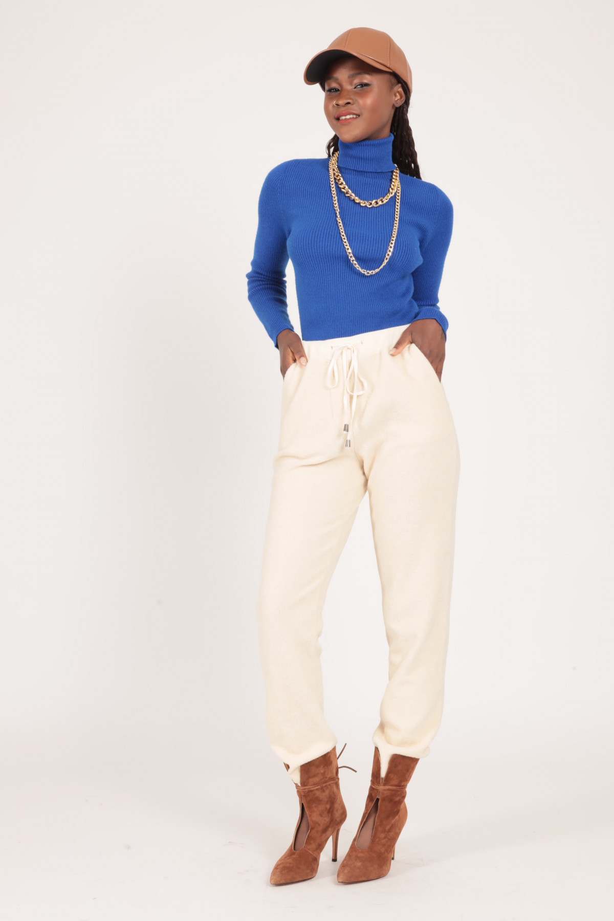 Terry Jogger Style Trousers