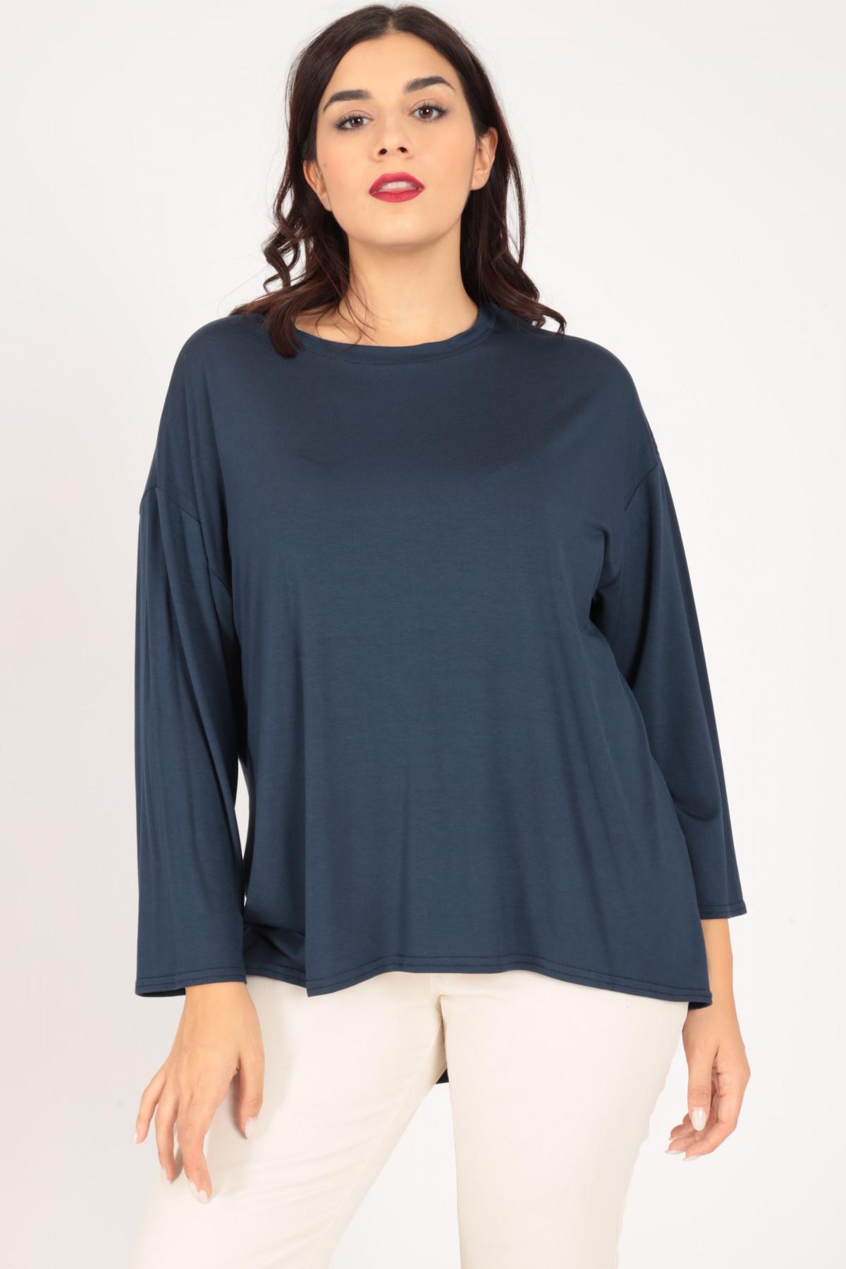 Long Sleeve Jersey Crewneck T-Shirt