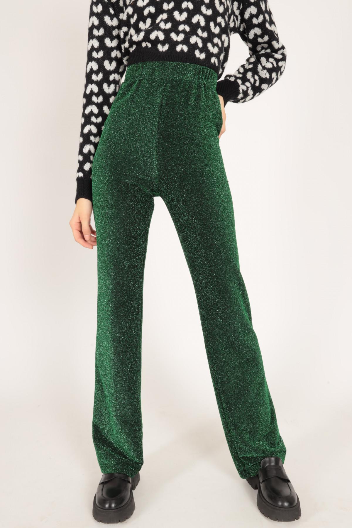 Pantalone lurex 100%pl