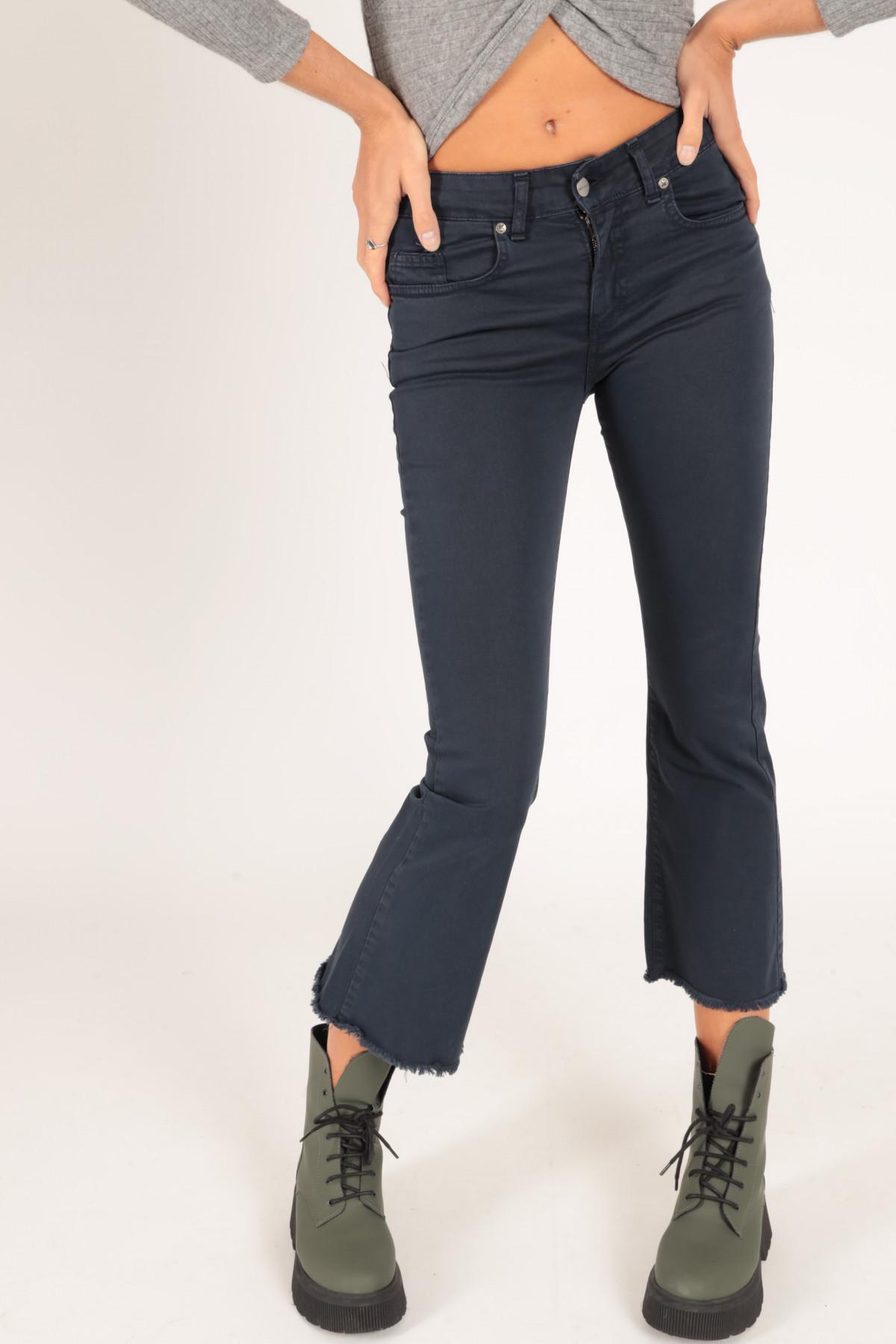 Garment Dyed 5 Pockets Trumpet Jeans