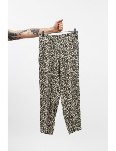 Pantaloni Fantasia Floreali