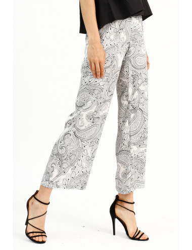 Cashmere Print Trousers