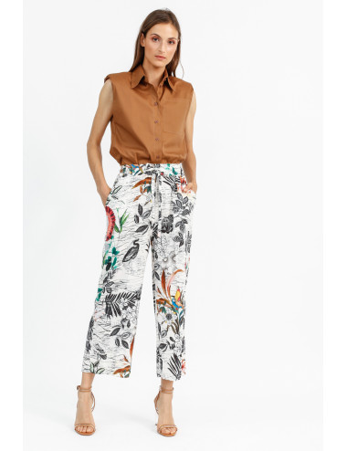 Parrots Printed Trousers