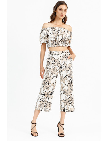 Lily Print Trousers